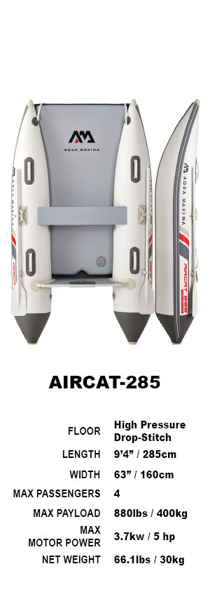Aqua Marina AIRCAT Inflatable Catamaran 2.85m 2021