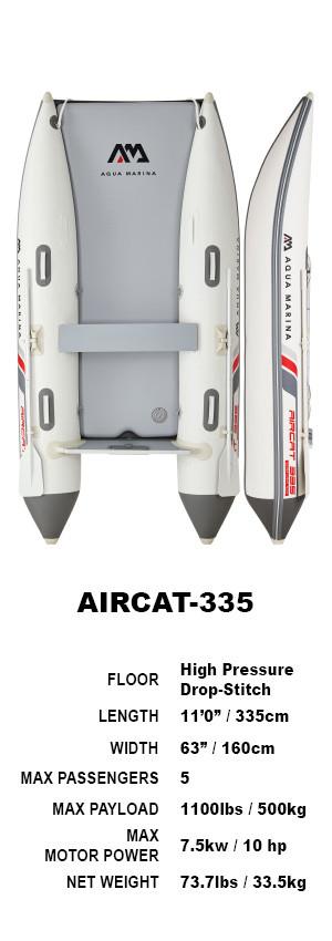 Aqua Marina AIRCAT Inflatable Catamaran 3.35m 2021